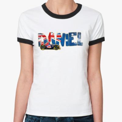 Женская футболка Ringer-T DANIEL