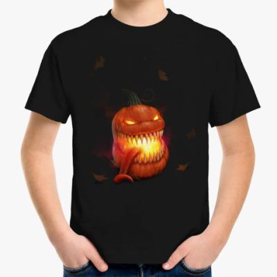 Детская футболка Зубастая Тыква