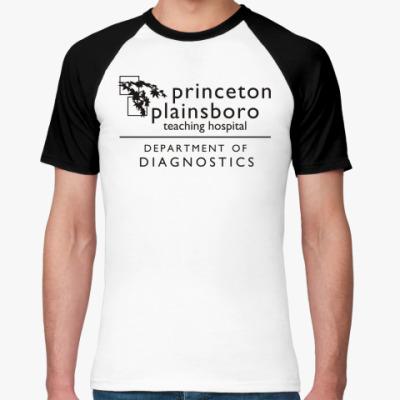 Футболка реглан  Princeton plainsboro