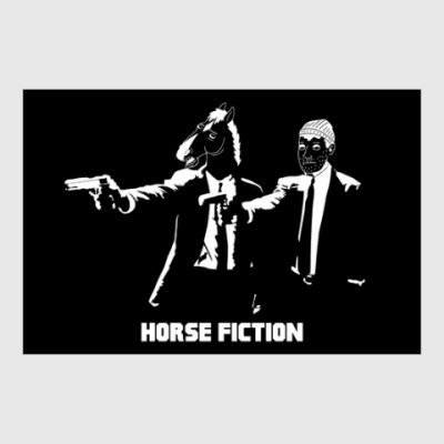 Постер Horse Fiction