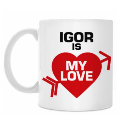 Кружка Игорь - моя любовь