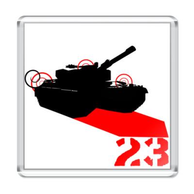 Магнит Tank 23