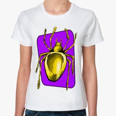 Классическая футболка Паук