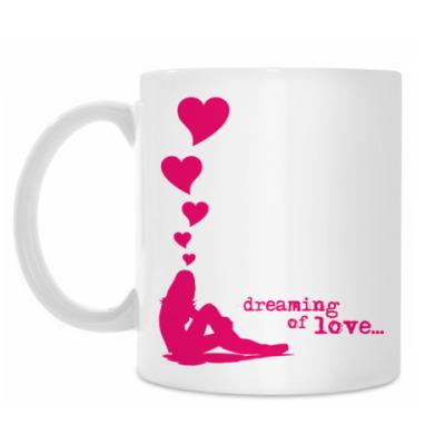 Кружка DREAMING OF LOVE