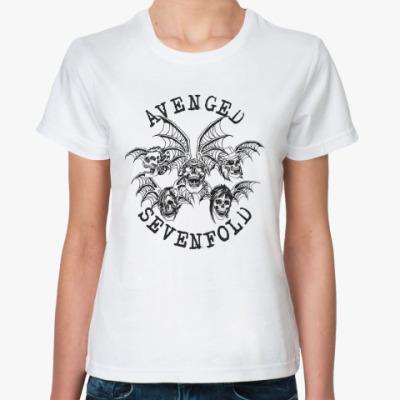 Классическая футболка Avenged Sevenfold