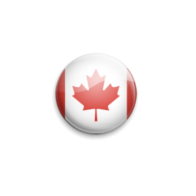 Значок 25мм Canada