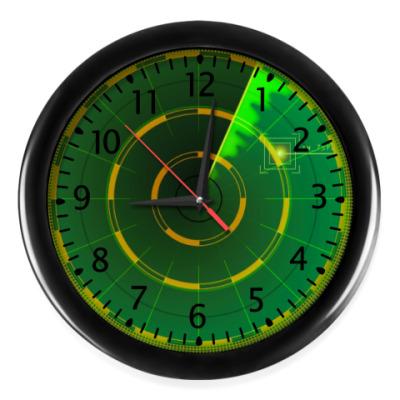 Настенные часы Локатор