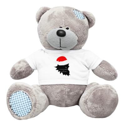 Плюшевый мишка Тедди Christmas is coming