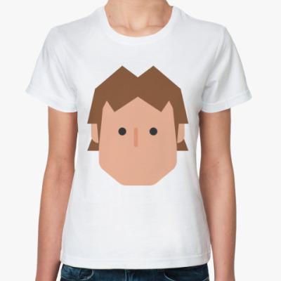 Классическая футболка Хан Соло (Звёздные войны)