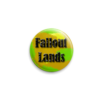 Значок 25мм  Fallout Lands