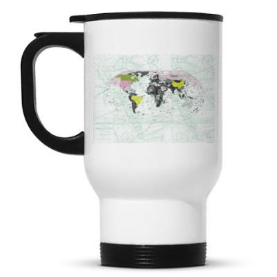 Кружка-термос Карта