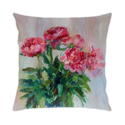 Подушка 'Тюльпаны'