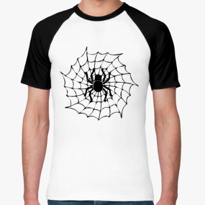 Футболка реглан Spider