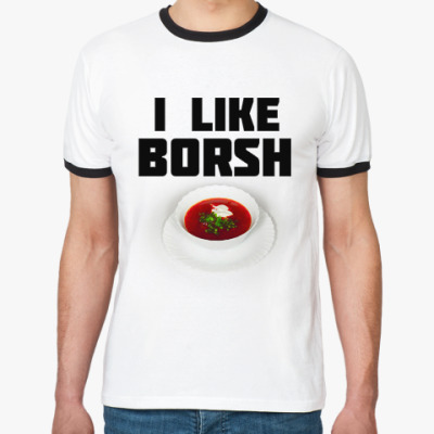 Футболка Ringer-T Borsh - Борщ