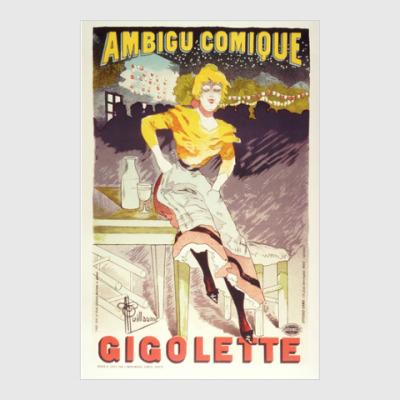 Постер Gigilette