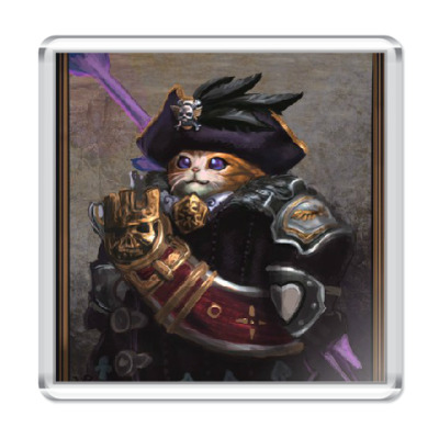 Магнит Кот-адмирал