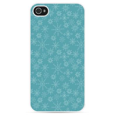 Чехол для iPhone Snowflakes