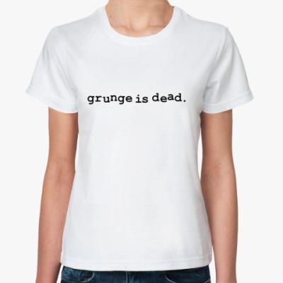 Классическая футболка Kurt Cobain - grunge