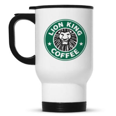Кружка-термос Lion king coffee