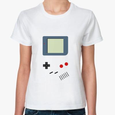 Классическая футболка  GameBoy