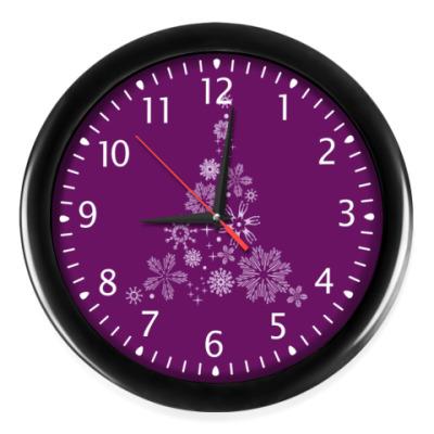 Часы Ёлочка