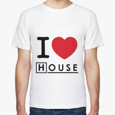 Футболка I heart House