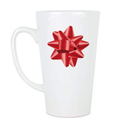 Чашка Латте Бантик