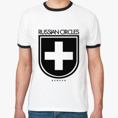 Футболка Ringer-T Russian Circles