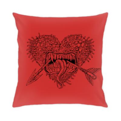 Подушка Страшный монстрик и любовь