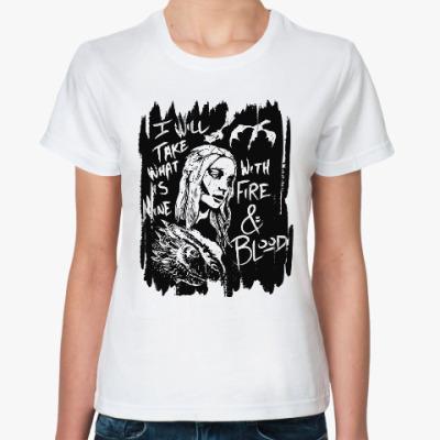 Классическая футболка Игра престолов. Кхалиси