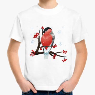 Детская футболка Снегирь
