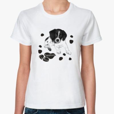 Классическая футболка Милый пёсик