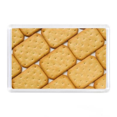 Магнит Печенье крекер