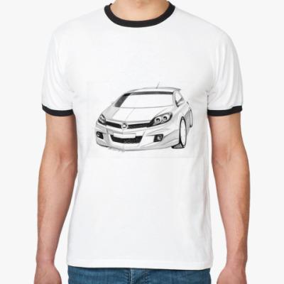 Футболка Ringer-T Автомобиль Opel