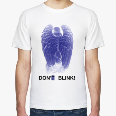 Футболка W.Angel Don't blink двусторон.
