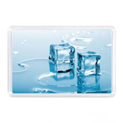 Магнит Кубики льда