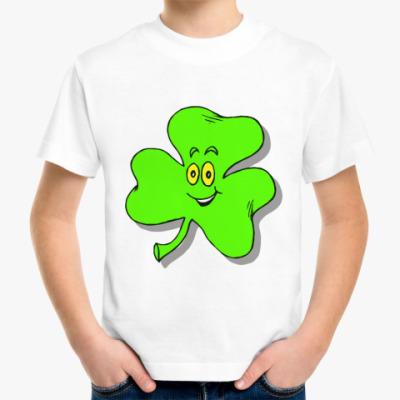 Детская футболка Happy Shamrock