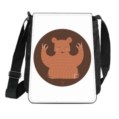 Сумка-планшет Animal Zen: B is for Bear