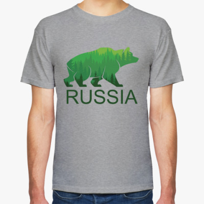 Футболка Россия, Russia
