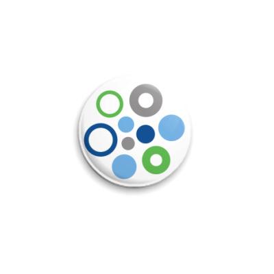 Значок 25мм  «OpenSolaris»