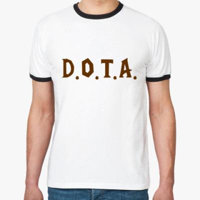 Футболка Ringer-T D.O.T.A.