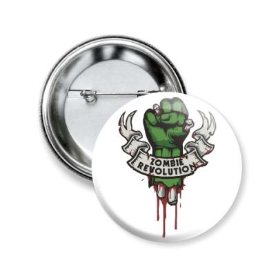 Значок 50мм Революция Зомби