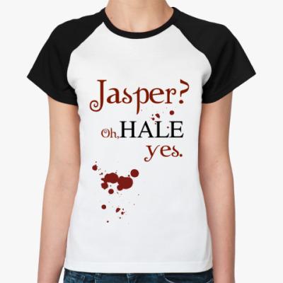 Женская футболка реглан Jasper?