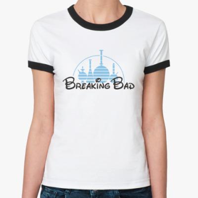 Женская футболка Ringer-T Breaking Bad Chemistry