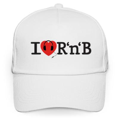 Кепка бейсболка Кепка I Love R'n'B (RnB, R&B)