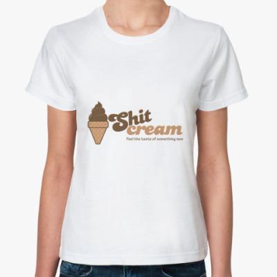 Классическая футболка ShitCream