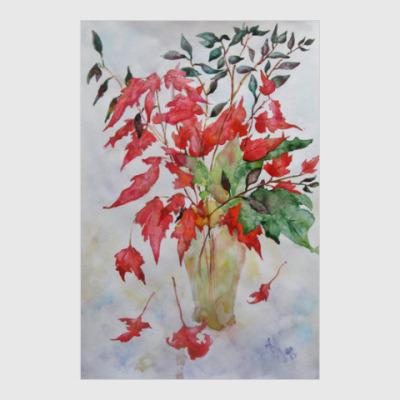 Постер Чистый цвет Осени