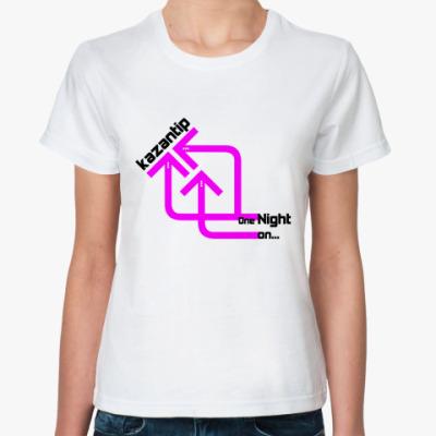 Классическая футболка kaZantip