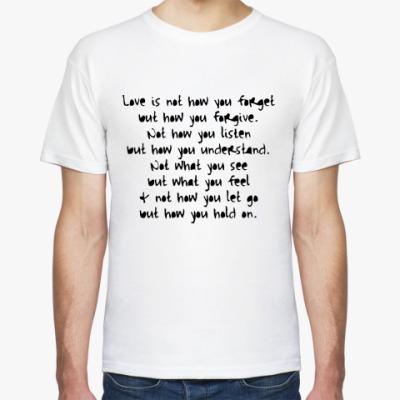 Футболка What is Love?