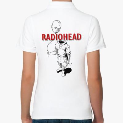 Женская рубашка поло Radiohead